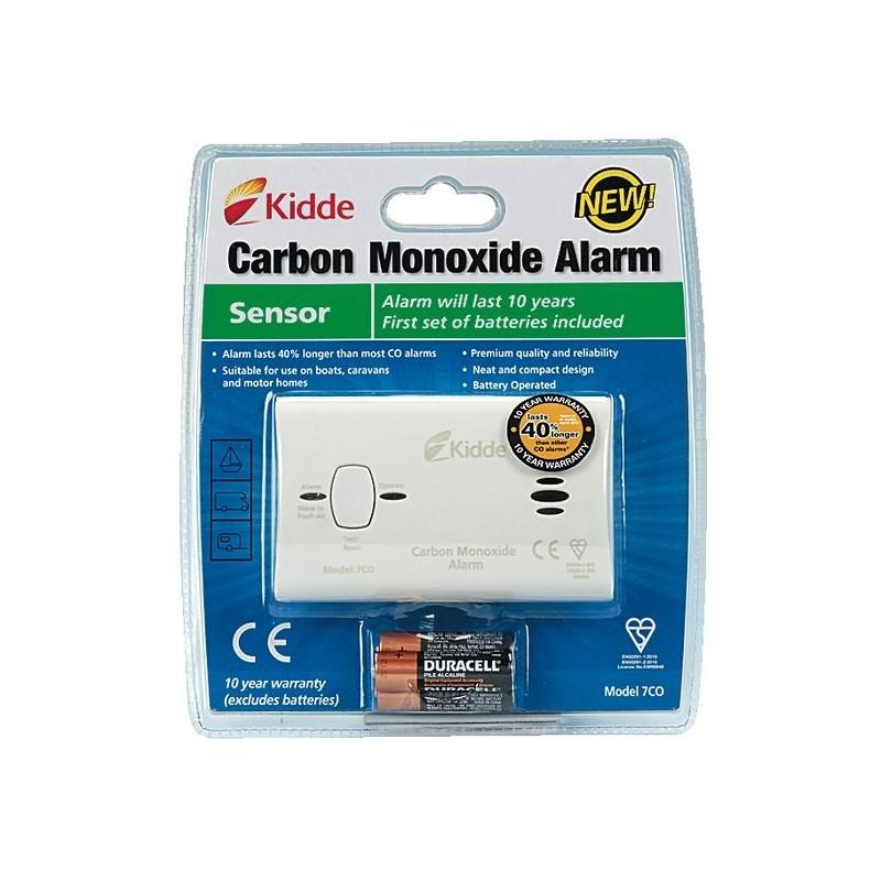 D tecteur monoxyde de carbone kidde 7co abm - Detecteur de fumee monoxyde de carbone ...