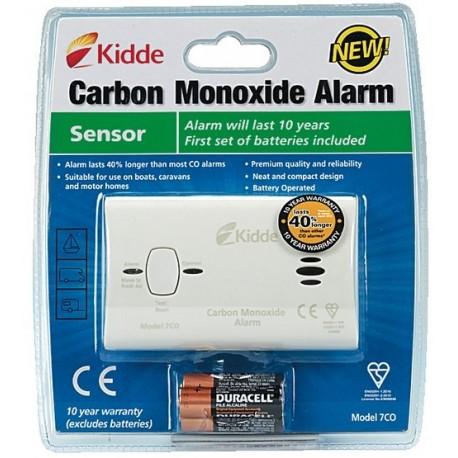 Détecteur Monoxyde de Carbone KIDDE 7CO