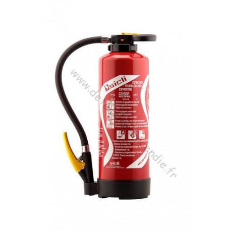 Extincteur Sicli P9 BC à poudre spécial pour feux de gaz